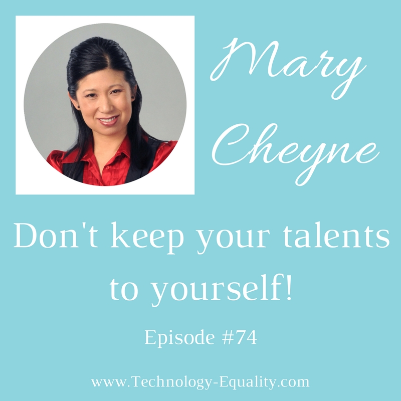 Don't keep your talents to yourself!
