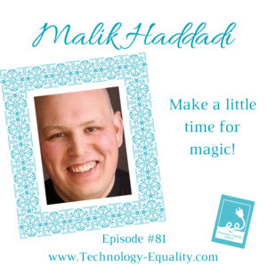 Make a little time for magic with Malik!
